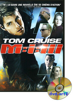 DVD : MISSION IMPOSSIBLE 3  - Tom Cruise