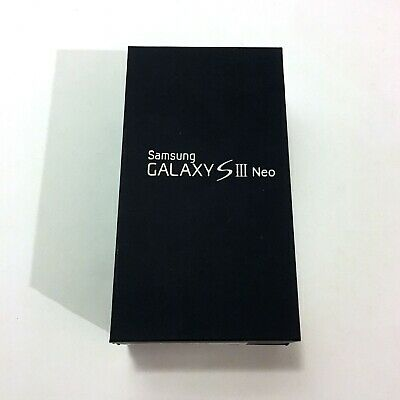 Samsung Galaxy Empty Box Siii Neo S 3 16Gb Caja Vacia Original + Manual Y Extras
