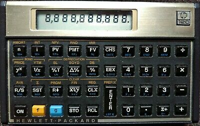 Hewlett Packard Hp-12C Calculator. New Batteries