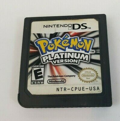 Pokemon -- Platinum Version (Nintendo DS, 2009) Game Only Tested