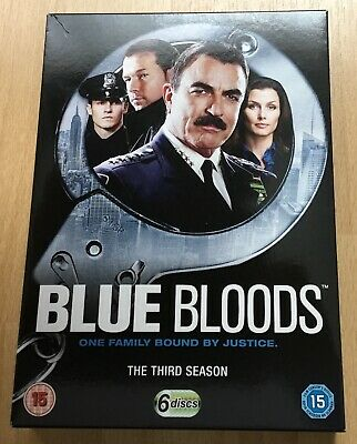 Blue Bloods - Series 3 - Complete (DVD, 2013, 6-Disc Set)