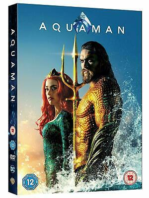 Aquaman DVD with Special Features Brand New Sealed Fast & Free Postage