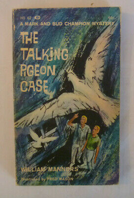 WILLIAM MANNERS - The Talking Pigeon Case - 1963 FIRST EDITION Paperback