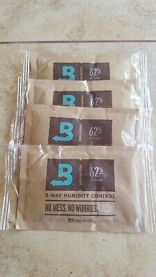 Boveda 62% Rh (67 Gram) - Individually Over-Wrapped. 4-Pack!