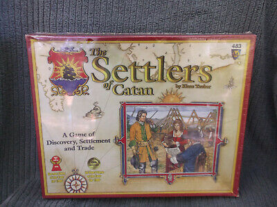 The Settlers of Catan Board Game Mayfair 1996 Origins, 2000 NIB