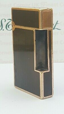 ST DuPont Lighter's Parts Line 2 Chinese Lacquer Body Only Good Condition A11