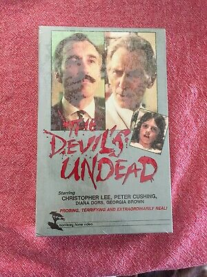 The Devils Undead BETAMAX Bigbox Christopher Lee Peter Cushing New Sealed