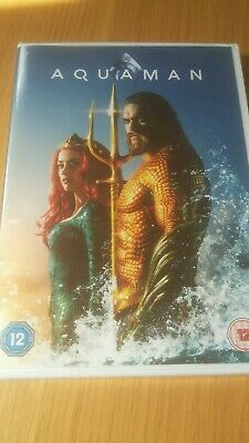 Aquaman dvd new and sealed