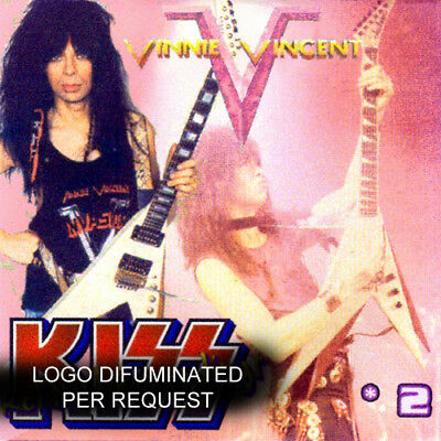 VINNIE VINCENT @DEMOS CD-3 KISS (Invasion/Britny Fox/Motley Crue/Vain) GLAM ROCK