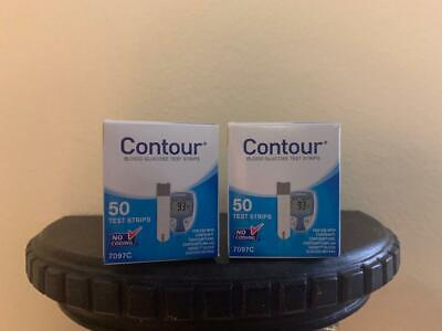 Bayer Contour Blood Glucose Test Strips 100 Ct Exp 11/2020+ Freaky Fast Shipping