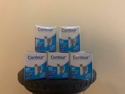 Bayer Contour Blood Glucose Test Strips 250 Ct Exp 11/2020+ Freaky Fast Shipping