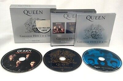 Queen : Greatest Hits I II & III: The Platinum Collection 3 CDs