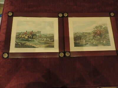 BACHELOR´S HALL PLATE 3 & 4 framed (high quality) & protected VG cond.