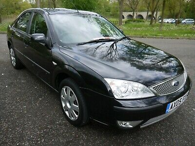 2005 Ford Mondeo 2.0 Lx Duratec 61K Very Low Miles Metallic Panther Black.......