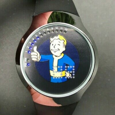FALLOUT 111 VAULT Boy RadGlow Radiation Glow-In-the-Dark Wrist Watch