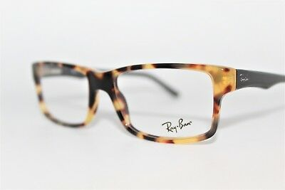 New Authentic Ray-Ban Rb 5245 5608 Tortoise Frames Eyeglasses 52Mm Rb5245 Rx