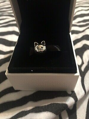 New Authentic Pandora Charms 925 ALE Sterling Silver Cat Bracelet Bead Charm