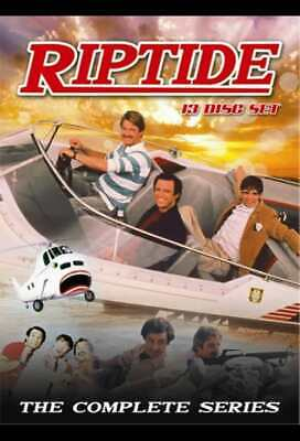RIPTIDE (1984-86 Perry King, Joe Penny) COMPLETE series on 13 DVDs