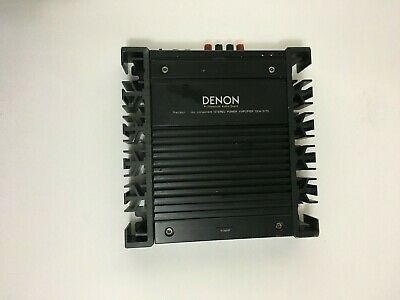 Old School hard to come by Denon DCA 3175 2 channel amplifier made in Japan