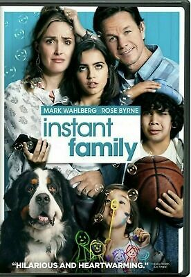 INSTANT FAMILY (DVD, 2019) NEW! Based On A True Story! Free Shipping