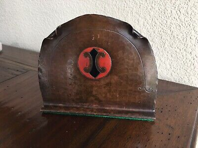 Vintage Craftsman Studios Copper Bookend Arts Crafts Mission Laguna Beach