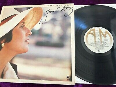 Rare 1977 The Best Of Joan C Baez Lp Vg+/Ex 1St Press A&M Sp-4668/R-123525 Folk