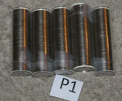 10 rolls 1963 P Jefferson Nickels BU Uncirculated                          D1 P1