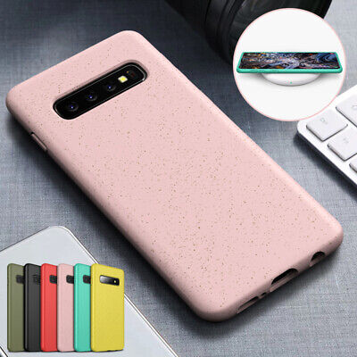 For Samsung S10 Plus S10e Case Soft TPU Silicone Rubber Shockproof Slim Cover