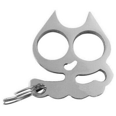 Personal Classic Cat-Self-Defense Key Chain Keyring Emergency Metal Tool Gift