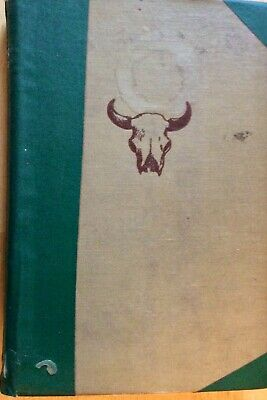 DARK HORSE by Will James 1939 1st Edition Ex-Library