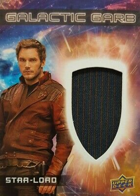 GUARDIANS of The GALAXY Vol 2 Costume Card GALACTIC Garb STAR - LORD SM - 1