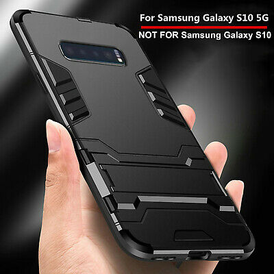 For Samsung Galaxy S10 5G Case Luxury Shockproof Hybrid Armor Stand Slim Cover