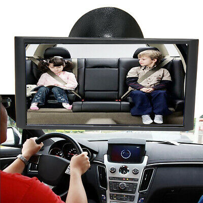 12cm Baby Car Seat Rear View Mirror Facing Back Infant Kids Toddler Ward Safety