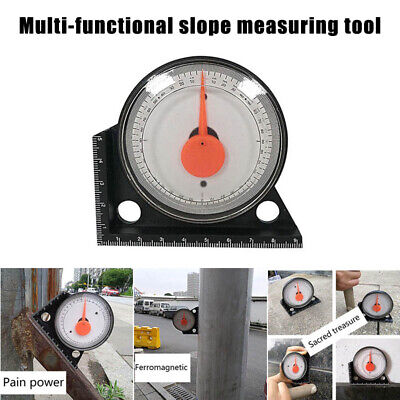 Pointer Angle Meter Magnetic Angle Instrument Measuring Protractor 9.5x9.5cm