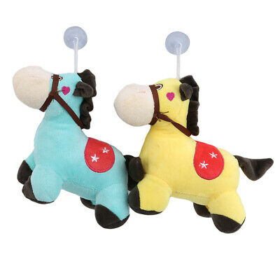 Children Plush Toy Stuffed Pony Pattern Doll Colorful Toddler Comfort Toys BS