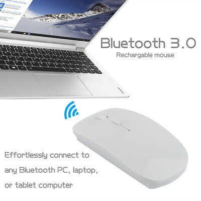 WIRELESS MOUSE BLUETOOTH Mouse For Macbook Air Pro Win/Mac Laptop