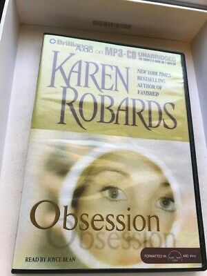 Karen Robards: Obsession (2007, MP3 CD Audiobook, Unabr) read by Joyce Bean