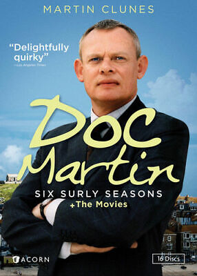 Doc Martin: Six Surly Seasons & The Movies - 16 Discs