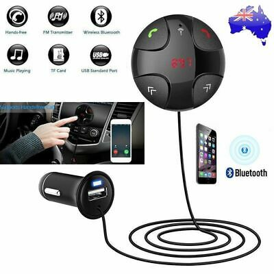Handsfree Wireless Bluetooth FM Transmitter Magnet Car Kit Mp3 Player USB Charge