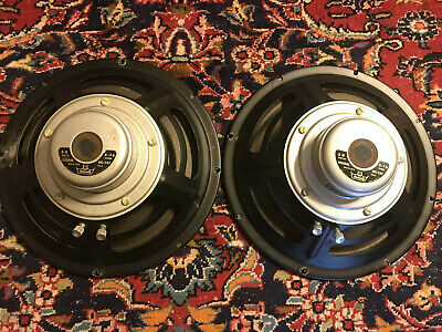 University UC-121 Speakers Scotty Moore Ray Butts Echosonic Vintage