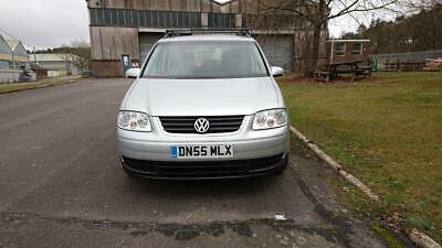 VW Touran 2.0 SE TDi Manual 2006/55 plate. 7 seater with new MOT and clutch