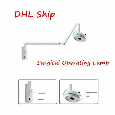top 12 Holes Wall Mounted Type LED Surgical Operating Auxiliary Lamp Inspection