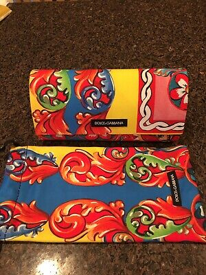 BRAND New Authentic DOLCE GABBANA ''SPECIAL SERIES'' EYEWEAR CASE ETC.