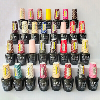 "150+ OPI GelColor Soak-Off LED/UV Gel Nail Polish 0.5oz ""Pick Any"""