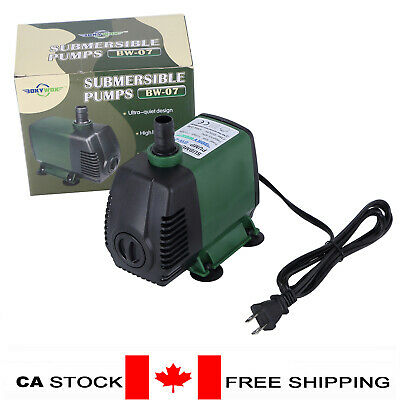 115V Submersible Water Pump 1056GPH Fish Tank Pond Fountain Fall Hydraponic 50W