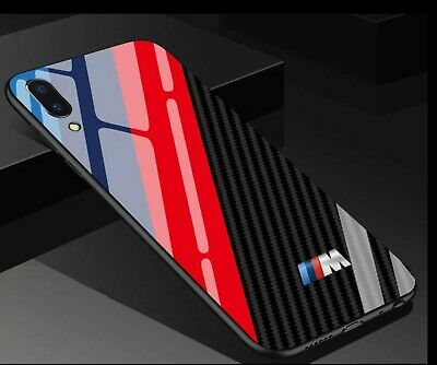 iPhone BMW M SPORT Tempered Glass Phone Case Cover ALL MODELS UK Seller