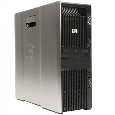 HP Z600 Workstation 2x Intel Xeon E5645 6x2,40GHz 24GB 1TB Nvidia Quadro 600 RW