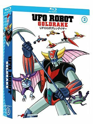 Yamato Video Blu Ray Anime Ufo Robot Goldrake Grendizer Box 2 Di 3 - 3 Dischi Co