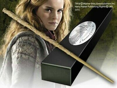 Noble Collection Harry Potter Wand Replica Bacchetta Hermione Granger New