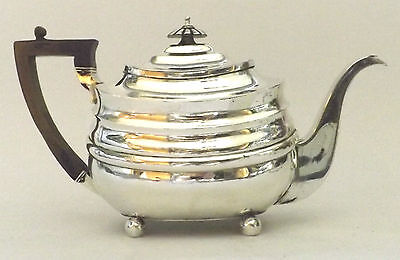 Teapot Sterling Silver Fine Oriental Revival Georgian John Wakefield London 1807